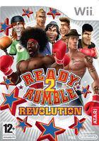 Portada oficial de de Ready 2 Rumble: Revolution para Wii