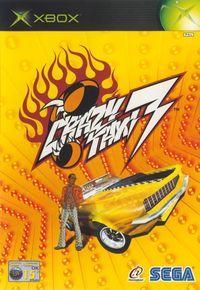 Portada oficial de Crazy Taxi 3 para Xbox