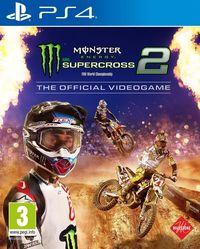 Portada oficial de Monster Energy Supercross - The Official Videogame 2 para PS4