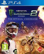 Portada oficial de de Monster Energy Supercross - The Official Videogame 2 para PS4