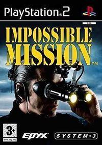 Portada oficial de Impossible Mission para PS2