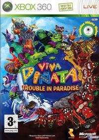 Portada oficial de Viva Piñata: Trouble in Paradise para Xbox 360