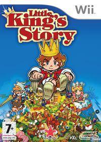 Portada oficial de Little King's Story para Wii