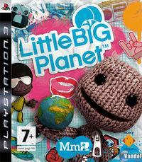 Portada oficial de LittleBigPlanet para PS3