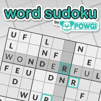 Portada oficial de Word Sudoku by POWGI para PS4