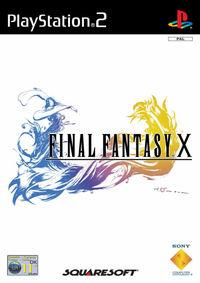 Portada oficial de Final Fantasy X para PS2