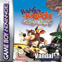 Portada oficial de Banjo Kazooie: La Venganza de Grunty para Game Boy Advance