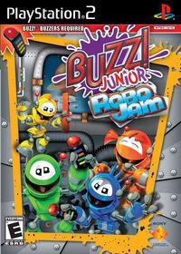 Portada oficial de Buzz Junior Robojam para PS2