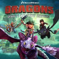 Portada oficial de Dragons: Dawn of New Riders para PS4