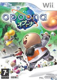 Portada oficial de Opoona para Wii