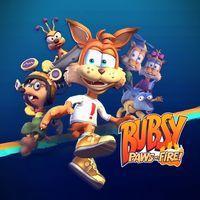 Portada oficial de Bubsy: Paws of Fire para PS4