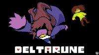 Portada oficial de Deltarune para PC