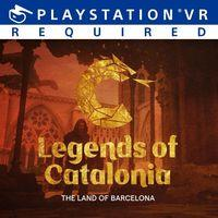 Portada oficial de Legends of Catalonia: The Land of Barcelona para PS4