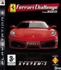 Portada oficial de Ferrari Challenge Trofeo Pirelli  para PS3