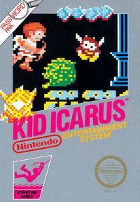 Portada oficial de Kid Icarus CV para Wii