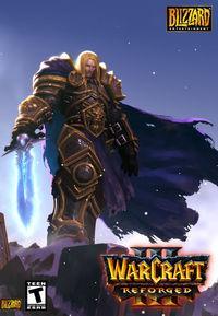 Portada oficial de Warcraft III: Reforged para PC