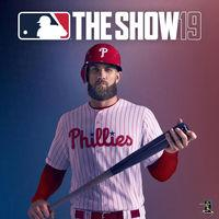 Portada oficial de MLB The Show 19 para PS4