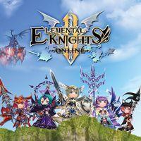Portada oficial de Elemental Knights R para Switch