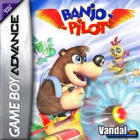 Portada oficial de Banjo-Pilot para Game Boy Advance
