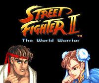 Portada oficial de Street Fighter II The World Warrior CV para Wii