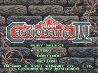 Portada oficial de de Super Castlevania IV CV para Wii