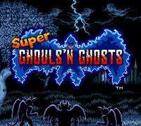 Portada oficial de Super Ghouls'n Ghosts CV para Wii
