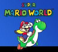 Portada oficial de Super Mario World CV para Wii