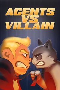 Portada oficial de Agents vs Villain para Xbox One