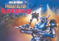 Portada oficial de Super Probotector Alien Rebels CV para Wii