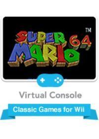 Portada oficial de Super Mario 64 CV para Wii