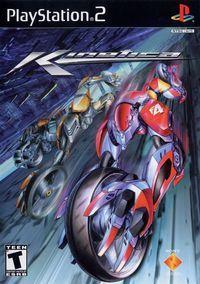 Portada oficial de Kinetica para PS2