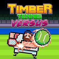 Portada oficial de Timber Tennis: Versus para PS4