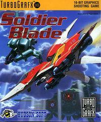 Portada oficial de Soldier Blade CV para Wii