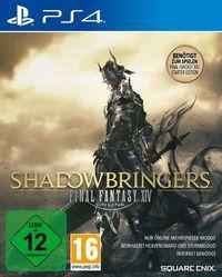 Portada oficial de Final Fantasy XIV: Shadowbringers para PS4