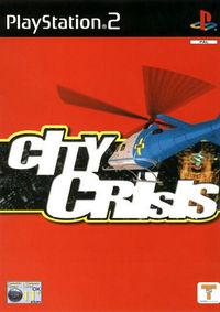 Portada oficial de City Crisis para PS2