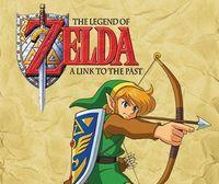 Portada oficial de The Legend of Zelda: A Link to the Past CV para Wii