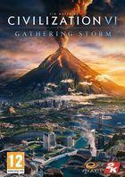 Portada oficial de de Sid Meier's Civilization VI: Gathering Storm para PC