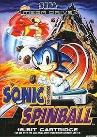 Portada oficial de Sonic Spinball CV para Wii