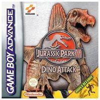 Portada oficial de Jurassic Park 3: Primal Fear para Game Boy Advance