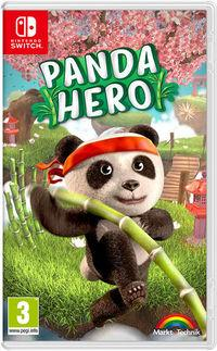 Portada oficial de Panda Hero para Switch