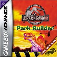 Portada oficial de Jurassic Park 3: Park Builder para Game Boy Advance