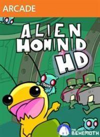 Portada oficial de Alien Hominid HD XBLA para Xbox 360