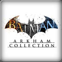 Portada oficial de Batman: Arkham Collection para PS4