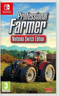 Portada oficial de Professional Farmer: Nintendo Switch Edition para Switch