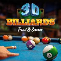 Portada oficial de 3D Billiards - Pool & Snooker para Switch