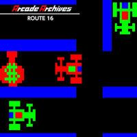 Portada oficial de Arcade Archives ROUTE 16 para Switch
