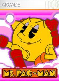 Portada oficial de Ms. Pac-Man XBLA para Xbox 360