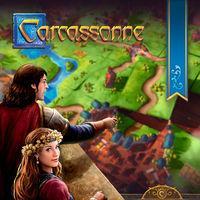 Portada oficial de Carcassonne para Switch