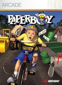 Portada oficial de Paperboy XBLA para Xbox 360