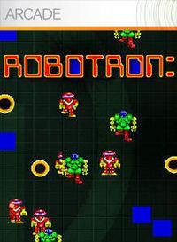Portada oficial de Robotron 2084 XBLA para Xbox 360